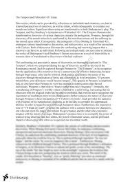 the tempest and fahrenheit essay year hsc english  document screenshots the tempest and fahrenheit 451 essay