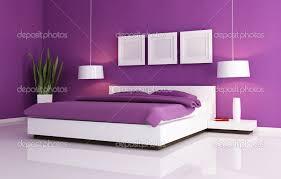 Deluxe Design Briliant Purple White Bedroom Interior Interiordecodir