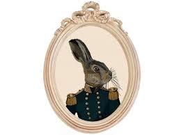 <b>Репродукция</b> гравюры «мистер заяц» в <b>раме</b> «бернадетт ...