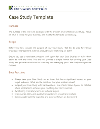 research case study case study template code country org case study template
