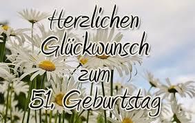 51 Geburtstag Glückwünsche Und Gratulationen