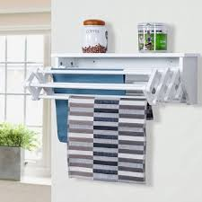 features romantic space saving folding. Features Romantic Space Saving Folding. Unique Costway Wallmounted  Drying Rack Folding Clothes Towel Laundry I