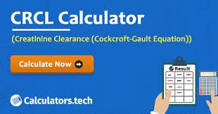 Creatinine 1 9 Diet Chart Creatinine Clearance Calculator Crcl Calculator