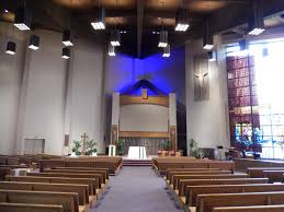 color changing led at a chicago area church