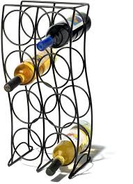 8 bottle wine rack spectrum curve 8 bottle wine rack s spectrum 8 bottle hanging wine