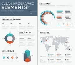 Chart Visualization World Map And Pie Chart Data Visualization Infographics