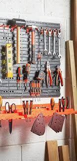 pegboard shelf tool organiser tool
