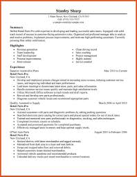 Parts Of A Resume parts of resume moa format 91