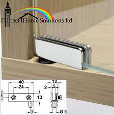 pivot hinge door. 2 glass door pivot hinges 110º chrome or black (2\u003dpair) for cabinet pivot hinge door