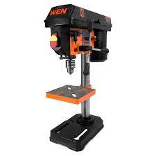Drill Press Speed Chart Metal Wen 4208 8 Inch 5 Speed Drill Press