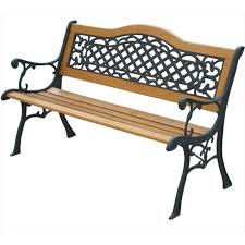 wood and metal benches for garden mississippi s bend garden bench wood and metal benches for