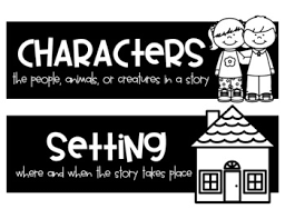 Character Setting Plot Chart Story Elements Anchor Chart