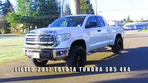 LIFTED 2017 TOYOTA TUNDRA SR5 4X4 - YouTube
