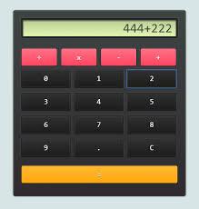 a simple calculator angularjs