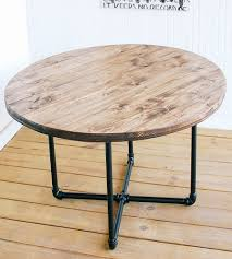 reclaimed round coffee table new appealing diy round coffee table best inspiration home
