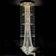 image of foyer crystal chandeliers style