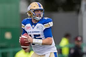 Winnipeg Blue Bombers Build On Matt Nichols Add Depth