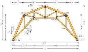 8x16 Gambrel Roof Plans  MyOutdoorPlans  Free Woodworking Plans Gambrel Roof Plans