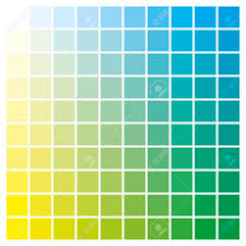 Cmyk Color Value Chart Cmyk Color Chart To Use In Prepress And Printing Used To Pick