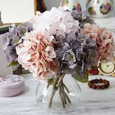 <b>Autumn</b> silk hydrangeas artificial <b>flowers</b> wedding <b>flowers</b> bridal ...