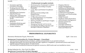 Project Manager Cv Template Construction Management Jobs Resume Doc ...