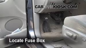 toyota fuse box inside interior fuse box location 2004 2010 toyota sienna 2006 toyota locate interior fuse box and remove