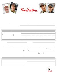 Tim Hortons Application Form - 28 Images - Tim Hortons Application