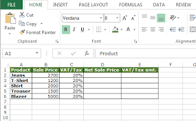 Vat Calculation Formula In Excel Download Calculate Sales Tax In Excel Magdalene Project Org