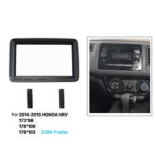 artistic double din 2014 2015 honda hrv car radio fascia audio frame car stereo conversions at Car Stereo Cover