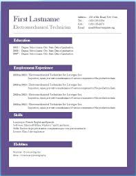 Free Downloadable Resume Templates Delectable Creative Resume Templates For Microsoft Word Template Free