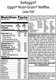 but fooducate told me that eggo has worse ings in it i checked out the label at bottom and decided to switch to kashi