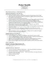 Real Estate Broker Resume From Estate Manager Resume Real Estate