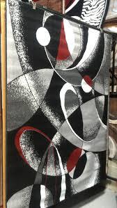 carpet 5x8. abstract contemporary 5x8 red black white gray area rug modern carpet o
