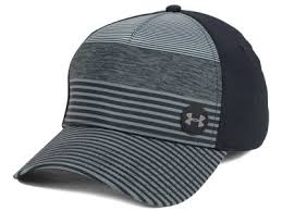 under armour hats. under armour golf striped out cap hats