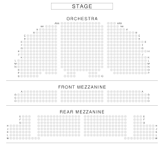 Beef And Boards Seating Chart Brooks Atkinson Theatre Seating Chart View From Seat New