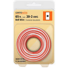 doorbell wire wire the home depot Basic Home Doorbell Wiring 20 2 solid bell wire basic home doorbell wiring