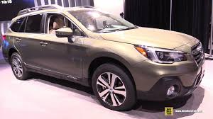 2018 subaru outback touring. interesting 2018 2018 subaru outback  exterior and interior walkaround 2017 new york auto  show and subaru outback touring