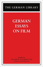 amazon com german essays on film german library  81 german essays on film german library 1st edition