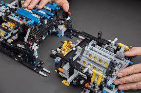 This exclusive model has been developed in partnership with bugatti automobiles s.a.s to capture the essence of the quintessential super sports vehicle, resulting in a stunning supercar replica as well as a hot toy for collectible toy car enthusiasts. 42083 Lego Technic Bugatti Chiron 43 The Brothers Brick The Brothers Brick