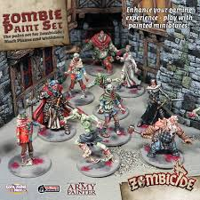 painted miniatures by the army painter zombicide black pe boardgamegeek