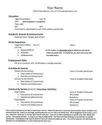 Extra Curricular Activities For Resumes Extracurricular Activities On Resume Socialum Co