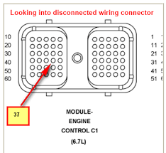 dodge mopar a wire to tach wire on ecm dk blue gray pin i have found that some of the wiring diagrams for the 07 6 7 engine are labeled incorrectly on the wire colors