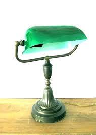 traditional bankers desk lamp vintage student desk lamps traditional bankers desk lamp banker lamps green vintage