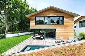 wooden modern house small modern wooden house minecraft