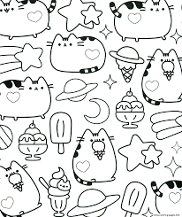 Printable coloring pages for girls. Pusheen Coloring Pages Coloring Home