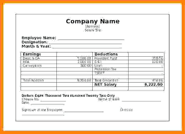 Employee Salary Slip Sample Unique Payslips Blue Template A Blank Payslip Free Ireland Mixmixco