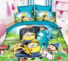 childrens cot bed duvet covers childrens twin bed quilts turquoise minions cartoon character bedding duvet quilt