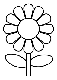 Coloring Page Flower Coloring Picture Flower Free Coloring Sheets