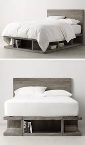 cool bed frames with storage. Delighful Frames The Grey Finish Of This Storage Bed And The Shapes Compartments Give  It A Sort Industrial Feel Make Look Like Itu0027s Made Oversized  Inside Cool Bed Frames With Storage E