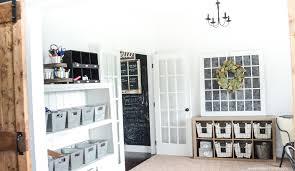 office storage ideas. Farmhouse Style Office Storage Ideas | Simply Kierste.com